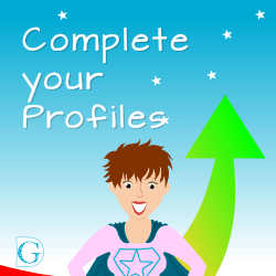 Complete your profiles
