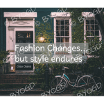 Quote image 215: Fashion changes but style endures