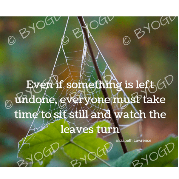 Quote image 225: Even if something is left undone