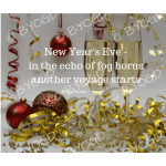Quote image 241: New Year's Eve - in the echo of fog horns