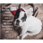Quote image 245: It struck him that how you spent Christmas