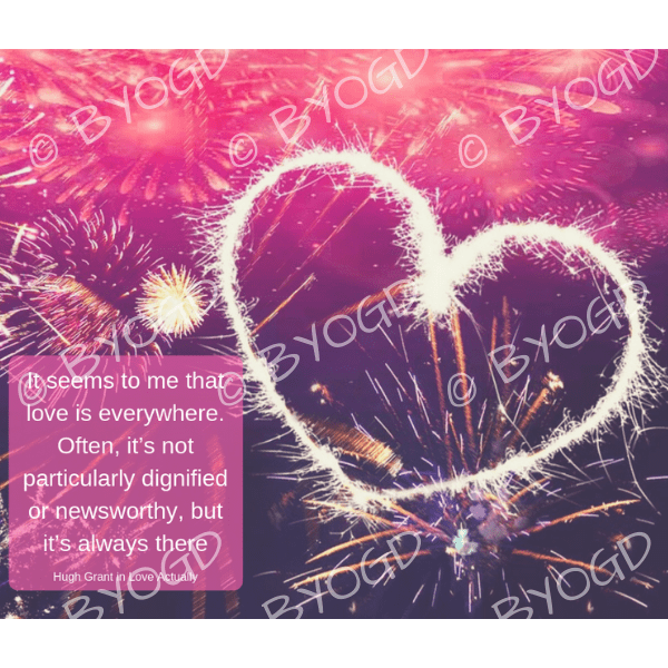 Quote image 250: It seems to me that love is everywhere