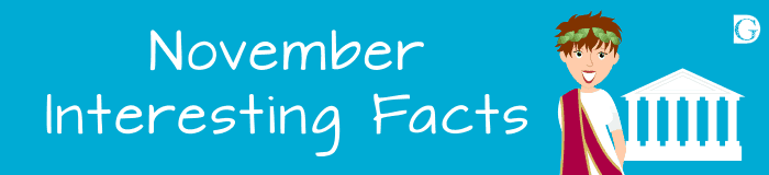 November Interesting Facts