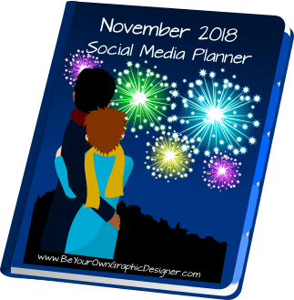 November 2018 Social Media Planner
