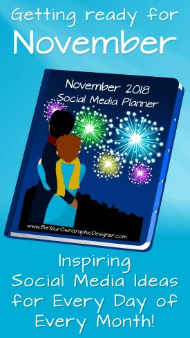 November Social Media Planner