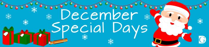 December Special Days