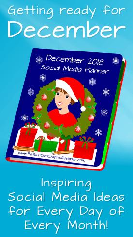 December Social Media Planner