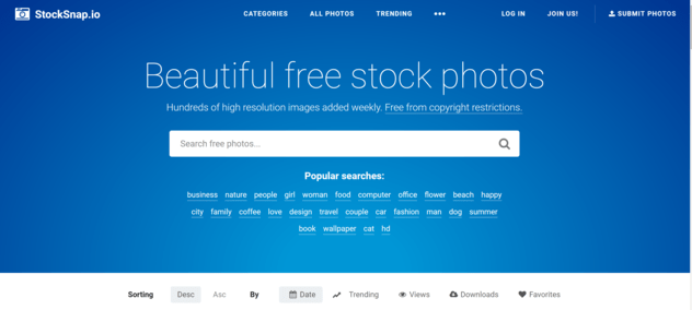 StockSnaps - free stock photos