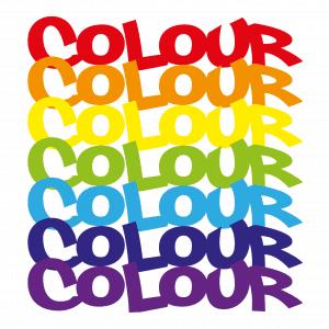 Different logo colours