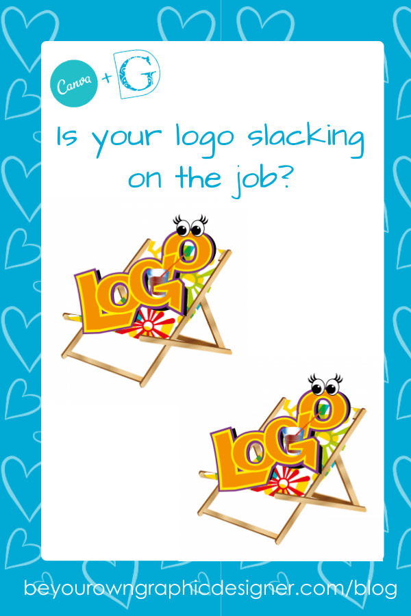 Is your logo slacking on the job