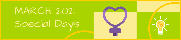 March 2021 Special Days