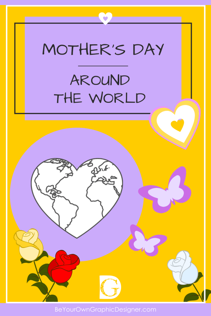 Mother's Day Around the World Pin