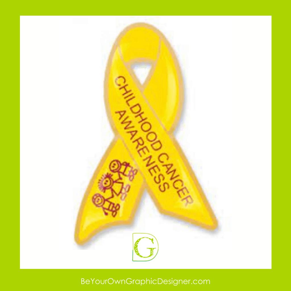 Childhood Cancer Awareness Social Media Post