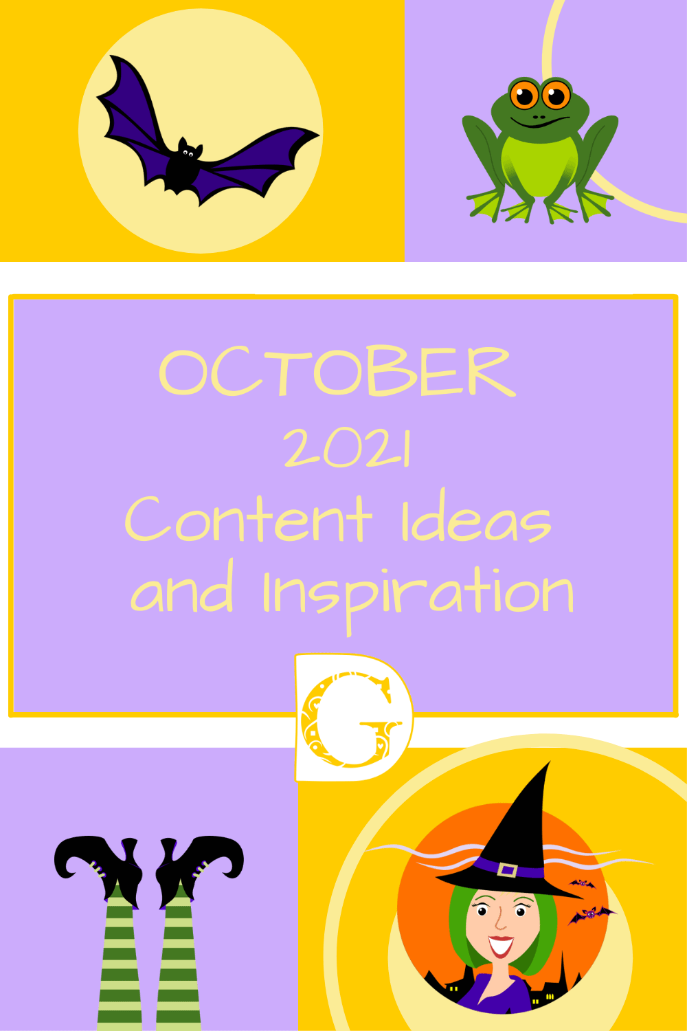 October 2021 Content Ideas and Inspiration