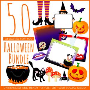50 Halloween Images Bundle